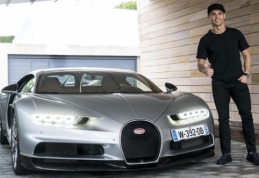 POP: C. Ronaldo dovana sau - įspūdingos kainos automobilis