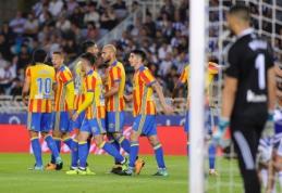 """Rezultatyvioje """"Valencia"""" ir """"Real Sociedad"""" dvikovoje - pergalingas S. Zazos įvartis (VIDEO)"""