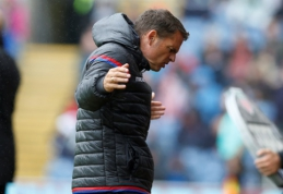 """F. de Boeras atleistas ir iš """"Crystal Palace"""" klubo"""