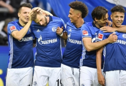 """Schalke"" nugalėjo ""Stuttgart"", ""Hertha"" ir ""Werder"" išsiskyrė lygiosiomis (VIDEO)"