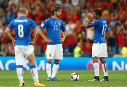 Nutrūko įspūdinga Italijos rinktinės serija
