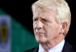 """G.Strachanas: """"Tai - geriausios rungtynės per mano karjerą Škotijos rinktinėje"""""""