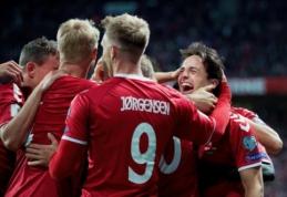 PČ atrankoje laimėjo anglai ir vokiečiai, Danija sudaužė Lenkiją (VIDEO)