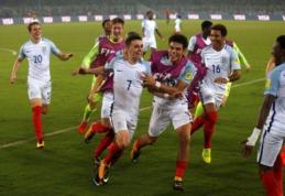 Vaikinų pasaulio čempionais tapo Anglijos 17-mečiai