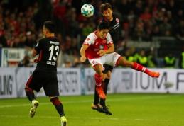 """""""Mainz"""" ir """"Eintracht"""" pasidalino po tašką (VIDEO)"""