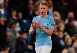 """""""Goal"""": K. De Bruyne pasirašys naują sutartį su """"Man City"""""""