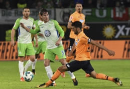 """""""Wolfsburg"""" pačioje mačo pabaigoje atėmė pergalę iš """"Hoffenheim"""" (VIDEO)"""