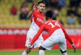 """Prancūzijoje laimėjo """"Monaco"""" ir """"Nantes"""", """"Bordeaux"""" patyrė nesėkmę (VIDEO)"""