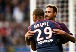 Neymaras: rūpinsiuosi Mbappe taip, kaip manimi rūpinosi Messi