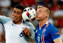 Islandų svajonė pasaulio čempionate - vėl žaisti prieš anglus