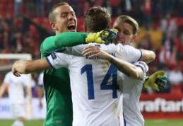 Islandija tapo mažiausia šalimi istorijoje patekusia į pasaulio čempionatą