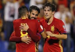 """""""Real"""" gali papildyti Ispanijos rinktinės debiutantas"""