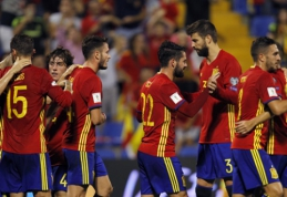 PČ atranka: Velsas pasiekė svarbią pergalę, Ispanija užsitikrino vietą Rusijoje (VIDEO)
