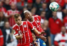 """Be C. Ancelotti likęs """"Bayern"""" antrą kartą iš eilės prarado taškus Vokietijoje (VIDEO)"""