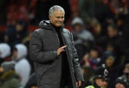 J. Mourinho apie A. Youngo įvartį: buvau nustebintas, kad P. Pogba jam leido atlikti šį smūgį (VIDEO)