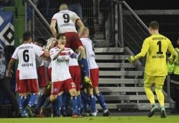 """Vokietijoje - užtikrintos """"Hamburger"""" ir """"Hertha"""" pergalės"""