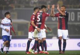"""Italijoje - netikėtas """"Sampdoria"""" sutriuškinimas ir nelengva """"Inter"""" pergalė (VIDEO)"""