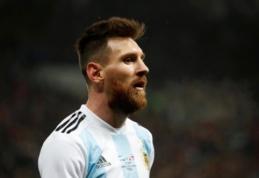 """L. Messi """"Zenit"""" puolėją supainiojo su eiliniu sirgaliumi"""