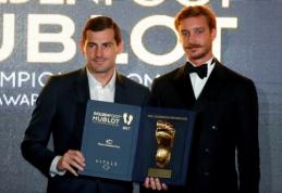 """I. Casillasas nurungė L. Messi ir C. Ronaldo """"Auksinės pėdos"""" rinkimuose"""
