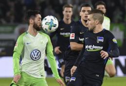 """""""Hoffenheim"""" sutriuškino """"Koln"""", """"Wolfsburg"""" ir """"Hertha"""" bombardavo vienas kitą (VIDEO)"""