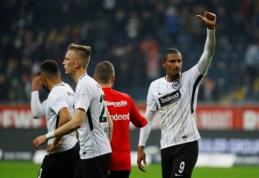 """""""Eintracht"""" rungtynių pabaigoje pranoko """"Werder"""" (VIDEO)"""