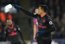 """Arsenal"" rezultatyvioje dvikovoje palaužė ""Crystal Palace"" (VIDEO)"