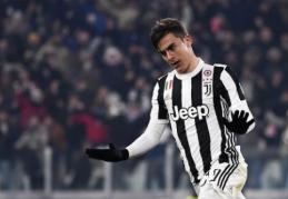 """Britų spauda: """"Juventus"""" atmetė """"Man United"""" pasiūlymą už P. Dybalą"""