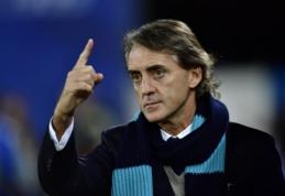 """Italijos futbolo pasiilgęs R. Mancini yra viliojamas """"Milan"""" klubo"""