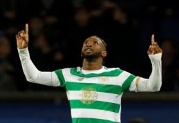 """""""Brighton"""" susitarė su """"Celtic"""" dėl M. Dembele įsigijimo"""