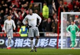 """""""Man Utd"""" - sensacingai eliminuotas iš Anglijos lygos taurės (VIDEO, + burtai)"""