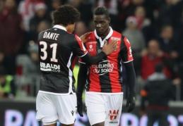 """Ligue 1"": M. Balotelli įvartis parklupdė ""Bordeaux"", ""Lyon"" palaužė ""Marseille"" (VIDEO)"