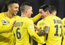 """PSG atsirevanšavo """"Strasbourg"""", o """"Lyon"""" ir """"Marseille"""" iškrito iš lygos taurės (VIDEO)"""