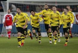 """Permainos davė vaisių: """"Borussia"""" nutraukė savo nesėkmių seriją Maince (VIDEO)"""