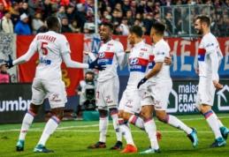 """""""Ligue 1"""": """"Nantes"""" ir """"Marseille"""" prarado taškus, """"Lyon"""" šventė sunkią pergalę (VIDEO)"""