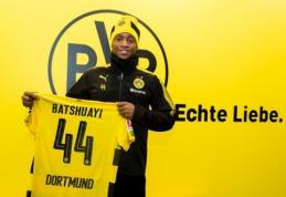 """Oficialu: M. Batshuayi sezoną užbaigs """"Borussia"""" ekipoje"""