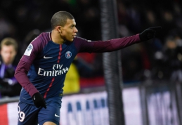 """""""Monaco"""" vadovas: """"Real"""" siūlė tiek pat, kiek PSG, tačiau K. Mbappe norėjo išvykti į Paryžių"""