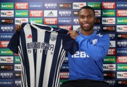 "Oficialu: D. Sturridge'as išnuomotas ""West Brom"" komandai"