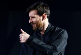 L. Messi: be Neymaro tapome labiau subalansuota komanda