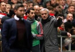 Armėnijos rinktinės treneris: H. Mkhitaryanas turėjo problemų su J. Mourinho