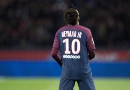 U. Emery apie nušvilptą Neymarą: PSG fanai jį myli