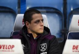 """Vilčių """"West Ham"""" klube nepateisinęs J. Hernandezas išvyks į Turkiją"""