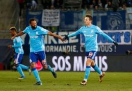 """Ligue 1"": ""Marseille"" antrajame kėlinyje parklupdė ""Caen"" (VIDEO)"