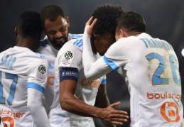 """""""Marseille"""" ir """"Nice"""" šventė pergales, """"Monaco"""" prarado taškus (VIDEO)"""