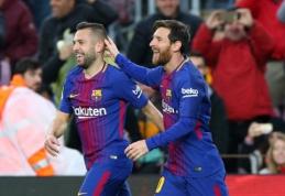 """L. Messi ir J. Albos vedama """"Barca"""" sudaužė """"Celta"""" ir žengė tolyn Karaliaus taurėje (VIDEO)"""