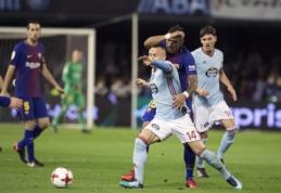 """Karaliaus taurė: """"Barca"""" išsiskyrė lygiosiomis su """"Celta"""", """"Real"""" pasiekė pergalę (VIDEO)"""