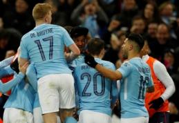 """Anglijos lygos taurės finale - """"Man City"""" ekipos triumfas (VIDEO, FOTO)"""