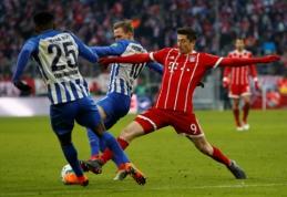 """""""Bayern"""" po ilgos pertraukos prarado taškus Vokietijos pirmenybėse (VIDEO)"""