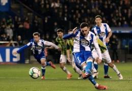 """""""Deportivo"""" ir """"Espanyol"""" išsiskyrė be įvarčių"""