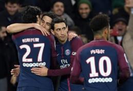 """PSG namuose su kaupu atsirevanšavo """"Strasbourg"""", """"Montpellier"""" prarado taškus (VIDEO)"""