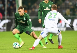 """""""Stuttgart"""" ir """"Werder"""" džiaugėsi pergalėmis Vokietijoje (VIDEO)"""